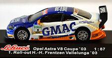 Opel Astra V8 Coupe DRM 2003 GMAC Bank Frentzen #8 1:87 Schuco