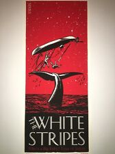 White Striped Rob Jones Jack White Poster Art Print Free Ship In US