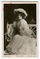 c 1906 British Theater Beauty PRETTY LILY ELSIE Fashion Edwardian photo pcard