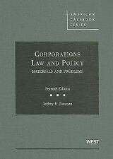 Corporations, Law and Policy, Materials and Problems by Bauman 7th Edition