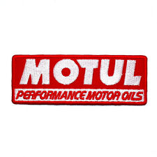 MOTUL Synthetic Motor Sports Cars Motocycles Racing T-Shit Jacket Iron on patch