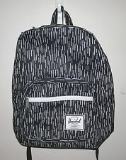 HERSCHEL SUPPLY CO POP QUIZ 20L BLACK/CAMO RAIN BACKPACK MSRP $70-  NEW w/TAG!!
