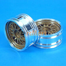 Tamiya 2-Piece Mesh Wheels 4WD/FWD Touring Rally 1:10 RC Car 26mm On Road #50548