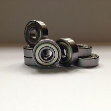 10 Pcs 608ZZ 8mm Skateboard Scooter Roller Blade Ball Bearings Wheels Kit