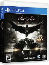 Batman: Arkham Knight - PlayStation 4 Brand New Ps4 Games Sony Factory Sealed