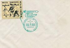 Poland postmark SULEJOWEK - scout post (label) Tourism PTTK