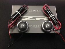 "NEW JL AUDIO® ZR100-CT 1"" ZR Series ALUMINUM CAR TWEETERS  PAIR ZR-100CT ZR100"