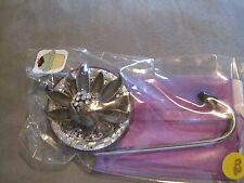 "JC Table Counter Bar Top Bag Purse Hook Hanger "" diamond bud "" COA"