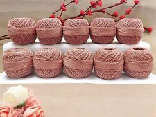 Anchor Knitting Set Of 10 Pcs Cotton Thread Crochet Tatting Yarn Embroidery Ball