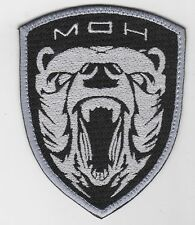 MEDAL OF HONOR TASK FORCE Grizzly NAVY MBSS AOR1 SILVER PATCH