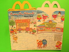 1990 McDonalds HM Box - Funny Fry Friends II - City sights