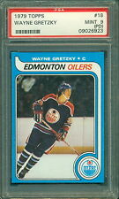 1979 80 TOPPS #18 WAYNE GRETZKY RC PSA 9 (PD) MINT ROOKIE CARD