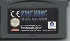 KING KONG THE OFFICIAL GAME OF THE MOVIE for Game Boy Advance GBA