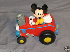Mickey Mouse Windup Race car