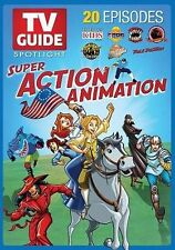 TV Guide Spotlight - Super Action Animation,New DVD, Pole Position, C.O.P.S., St