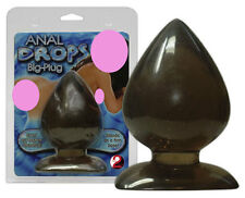 Fallo stimolatore anale nero trasparente You2Toys Plug-Anal Big Drops
