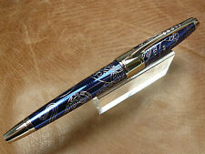 CROSS 2013 YEAR OF THE SNAKE PROSPERITY BLUE  ROLLER BALL PEN NEW/BOX/WARRANTY