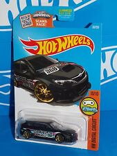 Hot Wheels 2016 HW Digital Circuit Series #30 Subaru WRX STi Kmart KDays Black