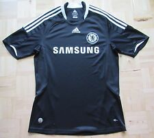 CHELSEA LONDON away shirt jersey ADIDAS 2008-2009 The Blues /black/ adult SIZE M