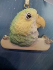 AMAZON PARROT   ~   ORNAMENT  #  2203