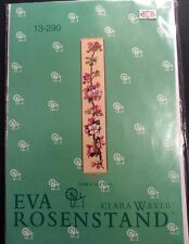 Eva Rosenstand Apple Blossom Bell Pull Cross Stitch Kit Clara Weaver Linen New