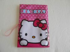 Hello Kitty Pink Passport ID Holder Case *New