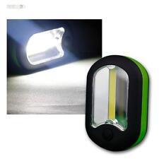 COB LED Arbeitsleuchte KFZ Akku Taschenlampe 200 Lumen Werkstatt Lampe Handlampe