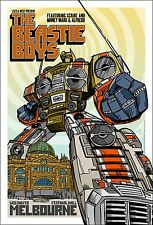 BEASTIE BOYS MELBOURNE 2005 CONCERT POSTER Open Edition ART RHYS COOPER