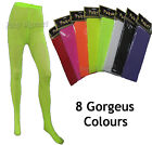 New Womens Party Costume Full Length Tights Fancy Dress Dance-CHOICE OF COLOURS