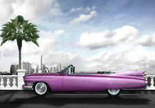 AUTOMOTIVE ART - 1959 CADILLAC  - HAND FINISHED, LIMITED EDITION (25)