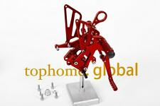 Red CNC Rearsets Foot pegs Rear set For BMW S1000RR 2010-2011 S1000 RR Top Sale
