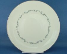 Royal Doulton England Coronet Gray Scroll Dinner Plate