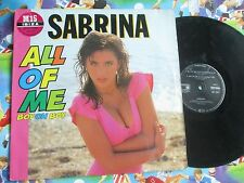 Sabrina All Of Me (Boy Oh Boy) Metronome 887720-1  Vinyl 12inch Maxi-Single