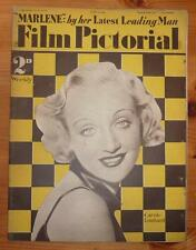 FILM PICTORIAL Vol III No 67 3RD JUNE 1933 CAROLE LOMBARD FRONT COVER