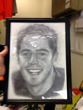 JAMIE REDKNAPP FRAME PHOTO AT £8 BRAND NEW20 INCH BY 12 INCH