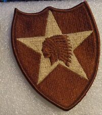ARMY PATCH  2nd INFANTRY DIVISION , DESERT