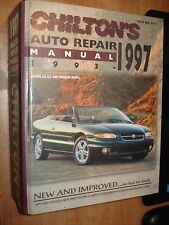 1993-1997 CHILTONS MANUAL FIREBIRD VETTE SERVICE FORD DODGE GM REATTA ALLANTE
