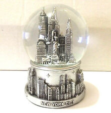 New York City Snow Globe 3.5 Inch(65mm)Skylines & Statue of liberty WG#198