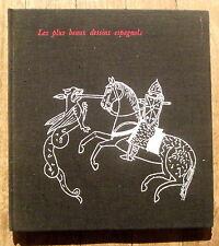 Les plus beaux dessins espagnols,Sanchez Canton,Editions du Chéne 1966