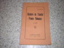 1928.histoire amitié franco polonaise / rosa Bailly.amis de la Pologne