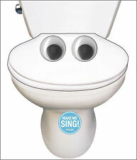 Funny Singing Toilet Song Birthday Sound Card Noisy Inventions Greeting Cards