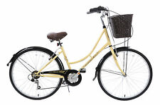 "CLASSIQUE TRADITIONAL HERITAGE LADIES DUTCH LIFESTYLE BIKE+BASKET 19"" 1F2804"