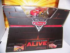 Disney Pixar Cars Lightning McQueen Alive 1:55 Mattel Talking Moving Eyes Mouth