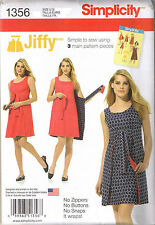Easy Vtg 70s Retro Reversible Wrap Dress Jiffy Sewing Pattern Sz 14 16 18 20 22