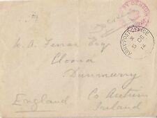 MILITARY : 1914 ARMY POST OFFICE /3 single ring cancel on  envelope