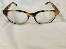 Warby Parker Eyeglasses 242 51 / 18 140 Ainsworth Tortoise Shell Yellow Tones