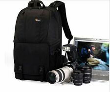 Lowepro Fastpack 350 DSLR Camera Photo Bag Backpack & 17'' Laptop Case (Black)