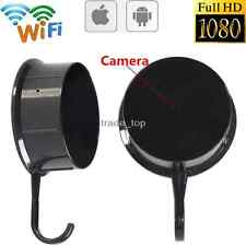 New 1080P WIFI HD SPY DVR Hidden Mini Camera Wall Hook Video Recorder Nanny Cam