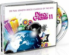 DISCO GIANTS Volume 11  (2-CD) Great 80's 12 inches    Captain Rapp Jam / Lewis