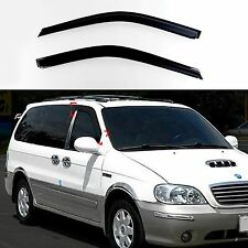 Sun Shade Rain Guard Door Window Vent Visor for 98-05 Sedona Carnival